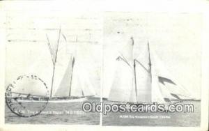 Kaisers Yacht Metoer Sail Boat Postcard Post Card  Kaisers Yacht Metoer