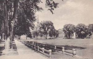 New Hampshire Hanover Senior Fence And The Campus From College Hall Dartmouth...