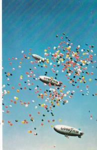 Ohio Akron Goodyear Blimps Goodyear Aerial Ambassadors 1983