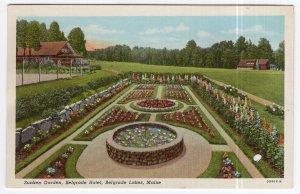 Belgrade Lakes, Maine, Sunken Garden, Belgrade Hotel