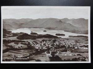 Cumbria: Keswick & Derwentwater, Old Postcard