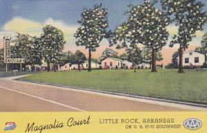 Magnolia Court, LITTLE ROCK, Arkansas, 1930-1940s
