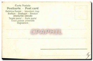Old Postcard Fancy Emilie Surname