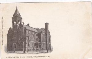 WILLIAMSPORT , Pennsylvania, 1901-07 ; High School