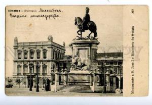 138758 Portugal LISBOA Monument D.Jose I Ministerio da Guerra