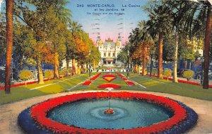Le Casino et les Jardins Monte Carlo 1933