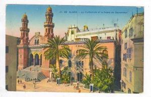 La Cathedrale et le Palais du Gouverneur,Alger,1900-10s