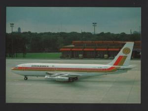 AIRPLANE AIRCRAFT AEROAMERICA BOEING 720 AIRPLANES AIRCRAFTS BERLIN AIRPORT z1