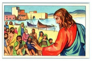 Jesus Christ, Christianity, Founders of Religion, Echte Wagner German Trade Card