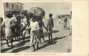 CPA Djibouti Afrique - Scéne d'un Mariage Somalis (87031)