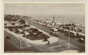 Hampshire; General View Of Front, Southsea PPC, c 1940's, Unposted