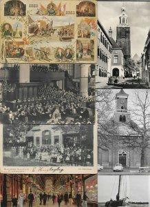 Netherlands - Schiedam Vlaardingen Maastricht And More Postcard Lot of 20 01.05