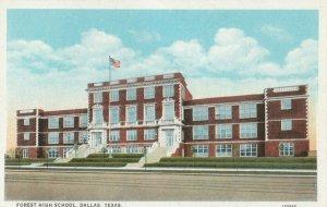 DALLAS , Texas, 1910s ; Forest High School