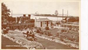 Scotland Stranraer Garden Of Riendship and Pier