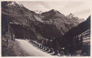 RP; TIROL, Austria, 1920s; Arlbergstrasse Mit Patteriol