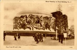 NY - New York World's Fair, 1939. Food Building #2, Mural