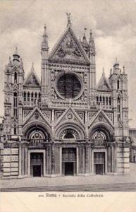 Siena , Italy , 00-10s ; Facciata della Cattedrale