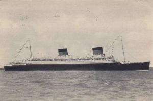 Oceanliner/Steamer/Ship, S/S Liberte (51.840 tx), PU-1952
