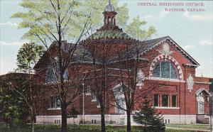 WINDSOR, Ontario, Canada, 1900-1910´s; Central Methodist Church