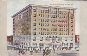 Indiana Fort Wayne The Anthony Hotel