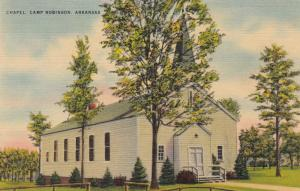 CAMP ROBINSON , Arkansas, 1930-40s; Chapel