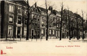 CPA LEIDEN Rapenburg m. Hopital Wallon NETHERLANDS (602033)