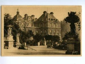 138628 France PARIS Palace & Garden du Luxembourg Vintage PC