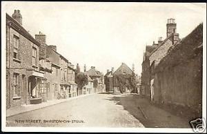 warwickshire, SHIPTON ON STOUR, New Street (1933)