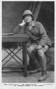 Edwardian Era Actor Mr. Lewis Waller as Alexander Mackenzie in The Explorer