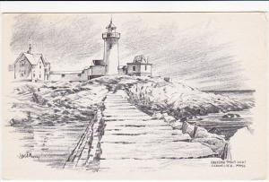 Eastern Point Lighthouse Gloucester Massachusetts