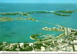 Florida Sarasota Aerial View 1988