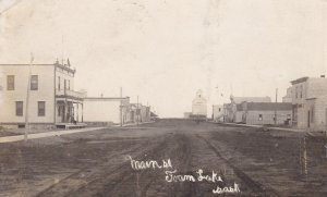 RP: FOAM LAKE, Saskatchewan, Canada, PU-1911; Main Street (dirt)