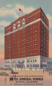 MOBILE, Alabama, 1930-1940's; New Hotel Admiral Semmes