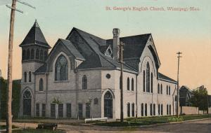 WINNIPEG, Manitoba, Canada, 00-10s; St. George's English Church