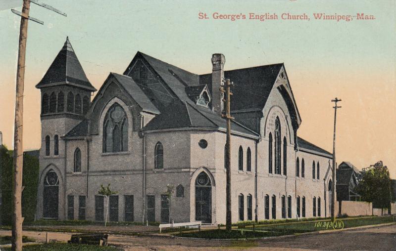 WINNIPEG, Manitoba, Canada, 00-10s; St. George's English Church