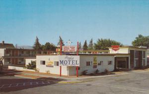 Rega Lodge Motel , ELLENSBURG , Washington , 50-60s