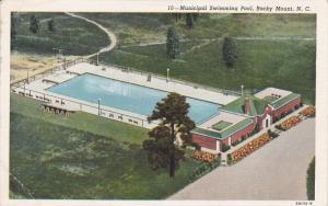 Municipal Swimming Pool, ROCKY MOUNT, North Carolina, PU-1949