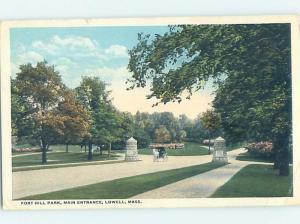 W-Border PARK SCENE Lowell Massachusetts MA H3265