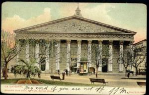 argentina, BUENOS AIRES, La Cathedral (1899)