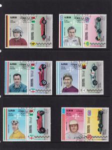 Ajman Formula 1 Scouts Scouting Old Stamp Bundle Job Lot