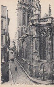 CAEN, France, 1910-1920s, Abside de Saint-Sauveur