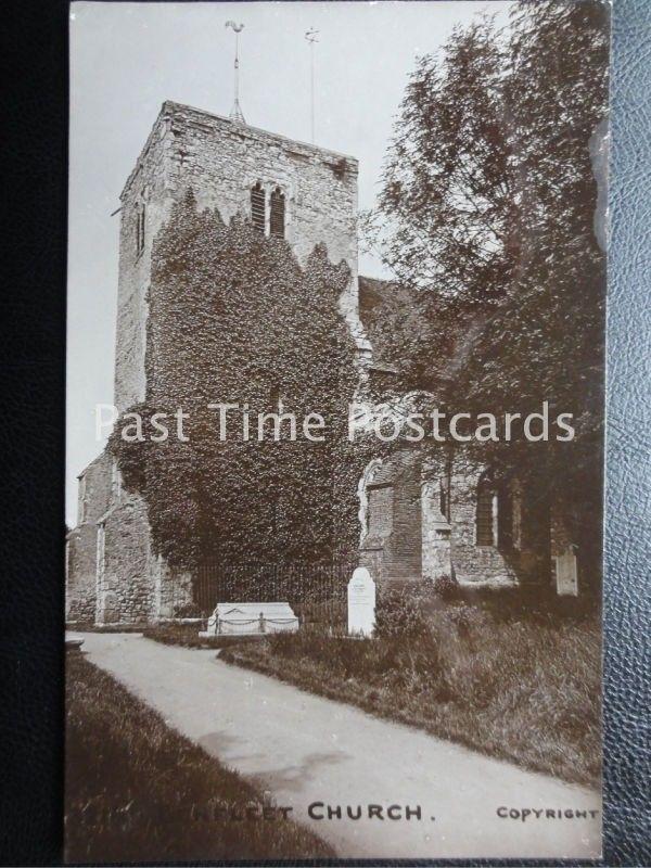 Vintage RPPC - Ben Flet Church