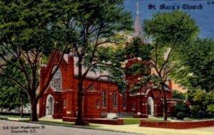 St. Mary's Church - Greenville, South Carolina