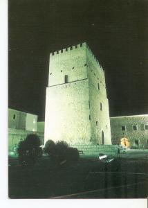 Postal 040634 : Caleruega (Burgos Espa?). Torreon de los Guzmanes iluminado