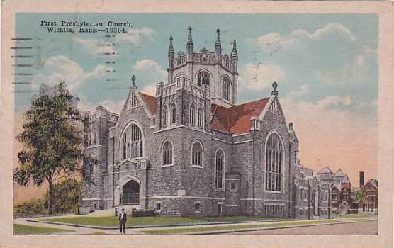 First Presbyterian Church, Wichita, Kansas, PU-1920