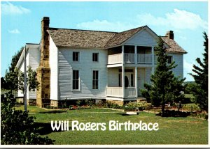 Oklahoma Claremore Will Rogers' Birthplace