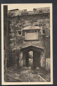 Hampshire Postcard - Hurst Castle, Milford on Sea - Entrance Gate    T3840