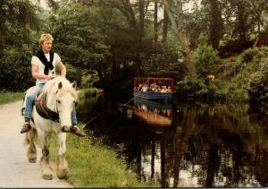 Wales Llangollen Canal Horse Drawn Barge