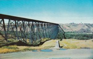 Canada Railroad Bridge Lethbridge Alberta