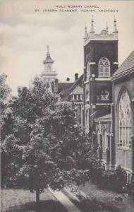Michigan Adrian Holy Rosery Chapel St Joseph Academy Artvue